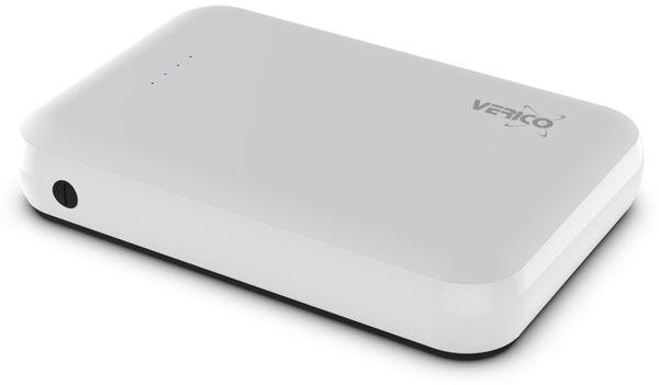 USB Powerbank VERICO Power Guard 10.000 mAh, weiß - Produktbild 4