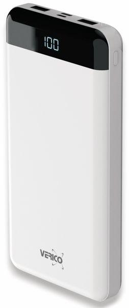 USB Powerbank VERICO Power Matrix, 20.000 mAh, weiß
