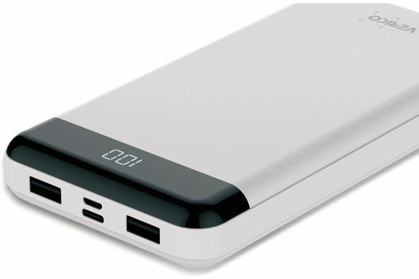 USB Powerbank VERICO Power Matrix, 20.000 mAh, weiß - Produktbild 2