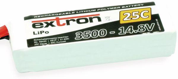 Modellbau-Akkupack EXTRON X2, LiPo, 14,8 V-/3500 mAh