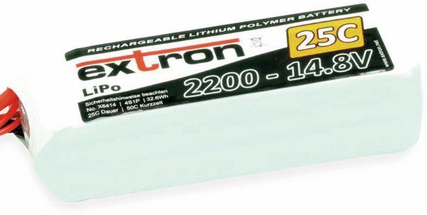 LiPo-Akku EXTRON X2, 14,8 V, 2200 mAh