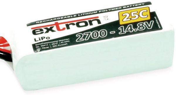 LiPo-Akku EXTRON X2, 14,8 V, 2700 mAh