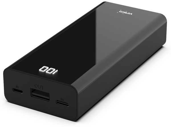 USB Powerbank VERICO Power Matrix, 10.000 mAh, schwarz