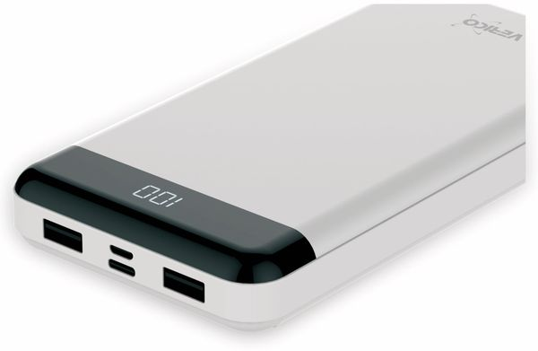 USB Powerbank VERICO Power Matrix, 16.000 mAh, weiß