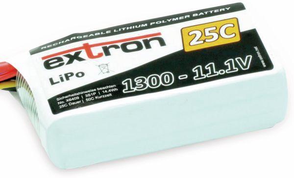 EXTRON LiPo-Akku X2, 11,1V-/1300m Ah