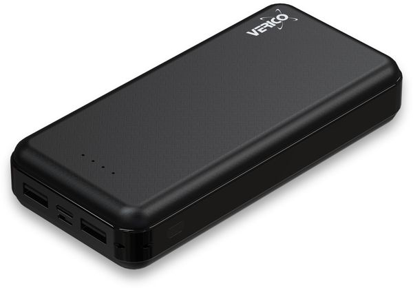 USB Powerbank VERICO Power Guard XL, 20.000 mAh, schwarz