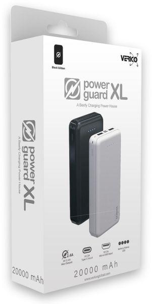 USB Powerbank VERICO Power Guard XL, 20.000 mAh, schwarz - Produktbild 5