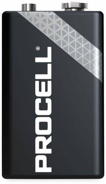 9V-Blockbatterien DURACELL PROCELL, 10 Stück