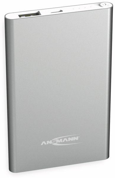 USB Powerbank ANSMANN 4 Ah, silber, 4.000 mAh