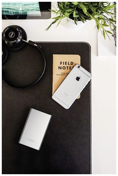 USB Powerbank ANSMANN 4 Ah, silber, 4.000 mAh - Produktbild 3
