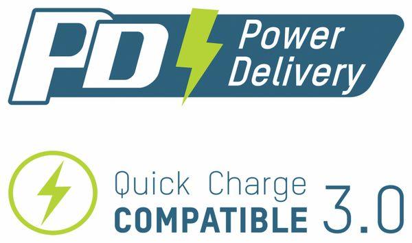 USB Powerbank ANSMANN 24 Ah, Type-C, 18 W PD, 24.000 mAh - Produktbild 5