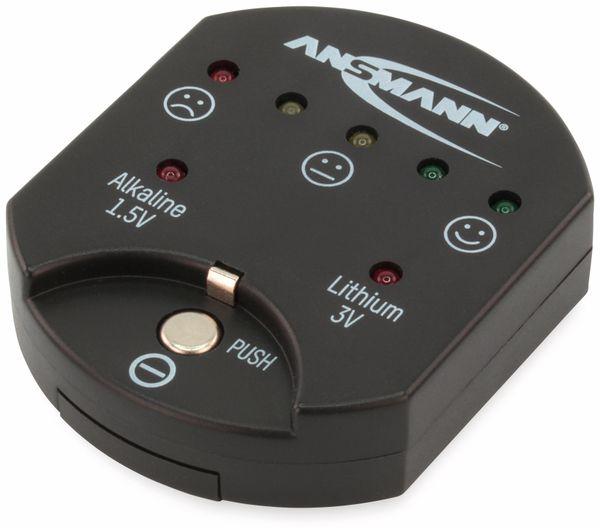 Batterietester ANSMANN für Knopfzellen