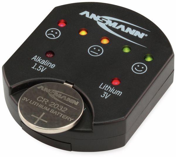 Batterietester ANSMANN für Knopfzellen - Produktbild 2