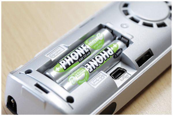 NiMH-Micro-Akku ANSMANN Phone maxE, 550 mAh, 2 Stück - Produktbild 4