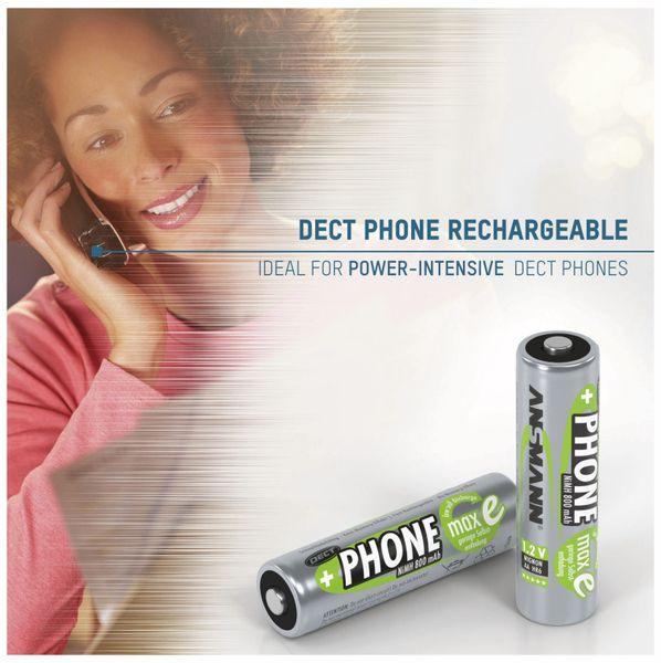 NiMH-Mignon-Akku ANSMANN Phone maxE, 800 mAh, 2 Stück - Produktbild 3