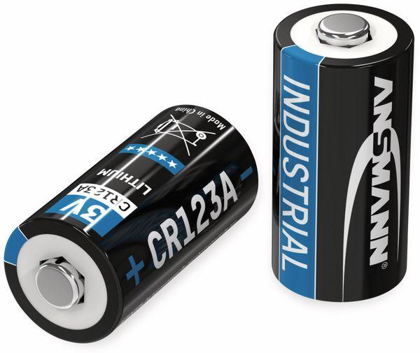 Lithium-Batterie ANSMANN CR123A, 10 Stück