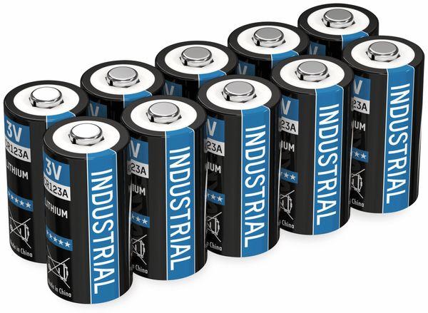 Lithium-Batterie ANSMANN CR123A, 10 Stück - Produktbild 2