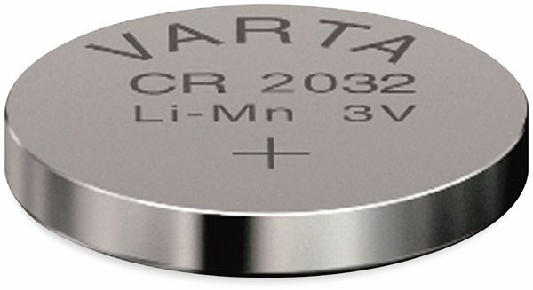 Lithium Knopfzelle VARTA CR2032, 20 Stück, 3 V, 230 mAh - Produktbild 2