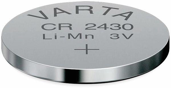 Lithium Knopfzelle VARTA CR2430, 20 Stück, 3 V, 280 mAh - Produktbild 2