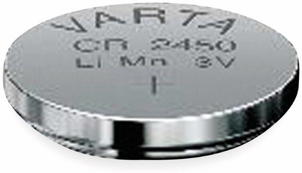 Lithium Knopfzelle VARTA CR2450, 20 Stück, 3 V, 560 mAh - Produktbild 2