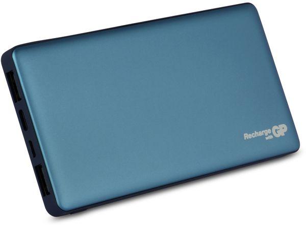 USB Powerbank GP MP10MA, 10.000 mAh, grünblau