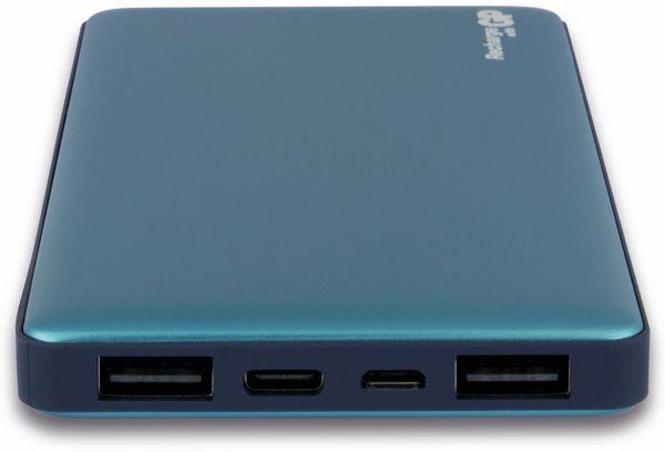 USB Powerbank GP MP10MA, 10.000 mAh, grünblau - Produktbild 12
