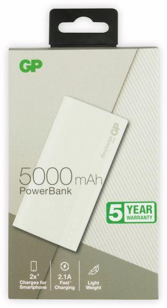 USB Powerbank GP B05A, 5.000 mAh, beige - Produktbild 2