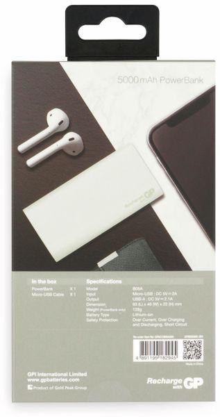 USB Powerbank GP B05A, 5.000 mAh, beige - Produktbild 3