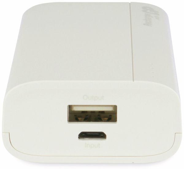USB Powerbank GP B05A, 5.000 mAh, beige - Produktbild 5