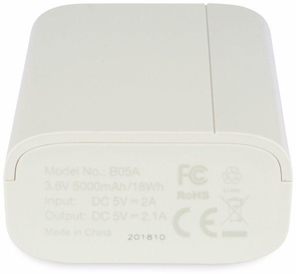 USB Powerbank GP B05A, 5.000 mAh, beige - Produktbild 7