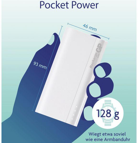 USB Powerbank GP B05A, 5.000 mAh, beige - Produktbild 9