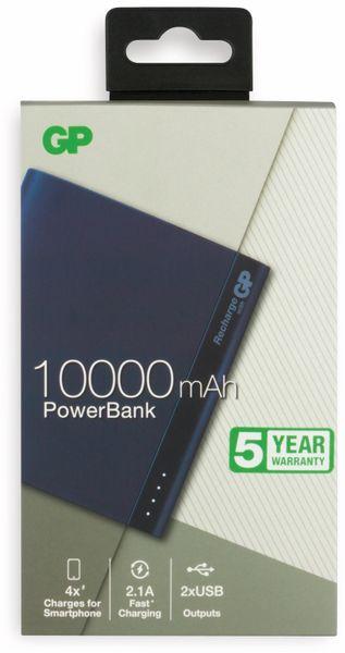 USB Powerbank GP B10A, 10.000 mAh, blau - Produktbild 2