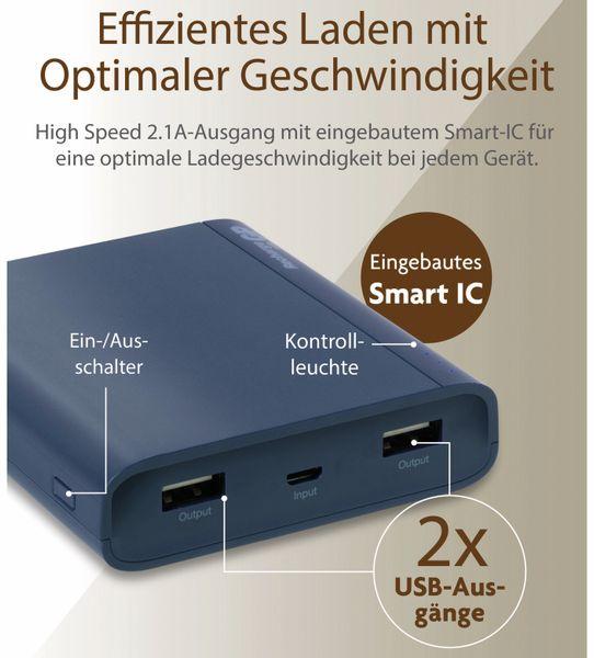 USB Powerbank GP B10A, 10.000 mAh, blau - Produktbild 11