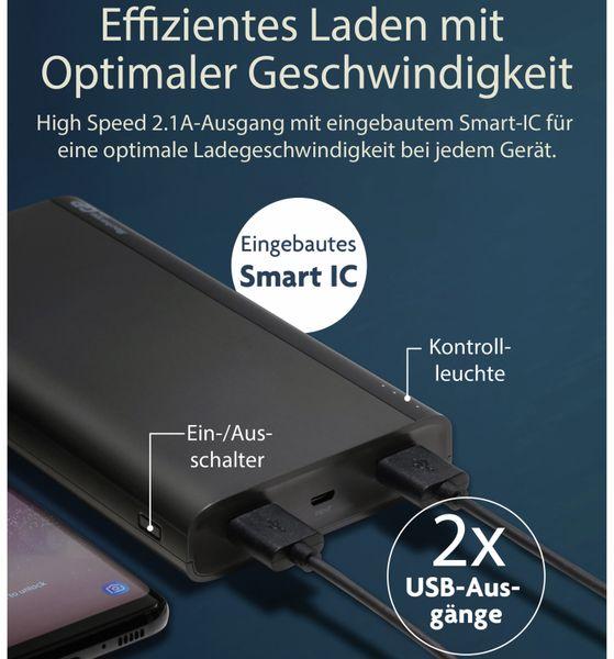 USB Powerbank GP B20A, 20.000 mAh, grau - Produktbild 5