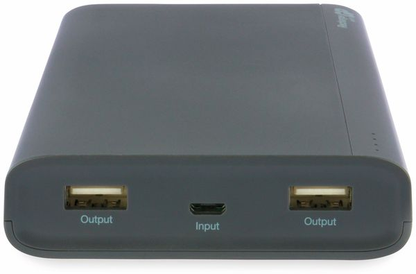 USB Powerbank GP B20A, 20.000 mAh, grau - Produktbild 6
