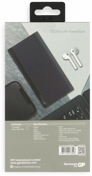 USB Powerbank GP B20A, 20.000 mAh, grau - Produktbild 13