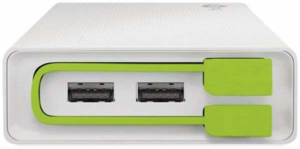 USB Powerbank GOOBAY 72204, 20.000 mAh, weiß