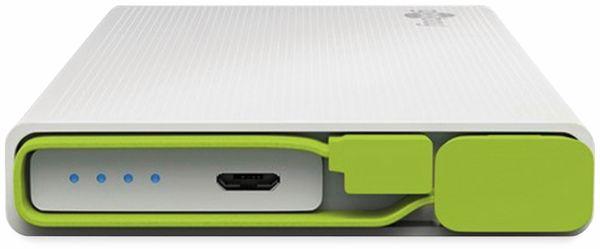 USB Powerbank GOOBAY 71225, 10.000 mAh, weiß