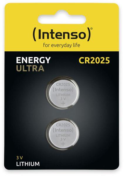 Lithium-Knopfzelle INTENSO CR2025, 2 Stück