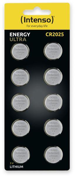 Lithium-Knopfzelle INTENSO CR2025, 10 Stück