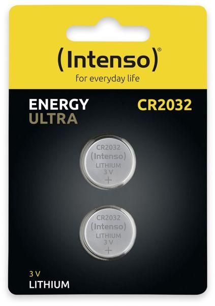Lithium-Knopfzelle INTENSO CR2032, 2 Stück