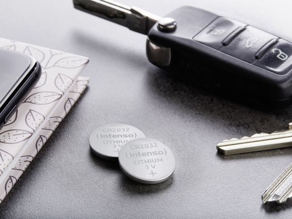 Lithium-Knopfzelle INTENSO CR2032, 2 Stück - Produktbild 4