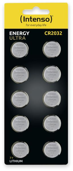 Lithium-Knopfzelle INTENSO CR2032, 10 Stück