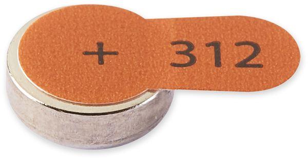Hörgeräte-Batterie INTENSO, Energy Ultra A 312, 6 Stück, braun - Produktbild 3