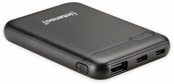 USB Powerbank INTENSO 7313520, XS 5000, 5.000 mAh, schwarz - Produktbild 3
