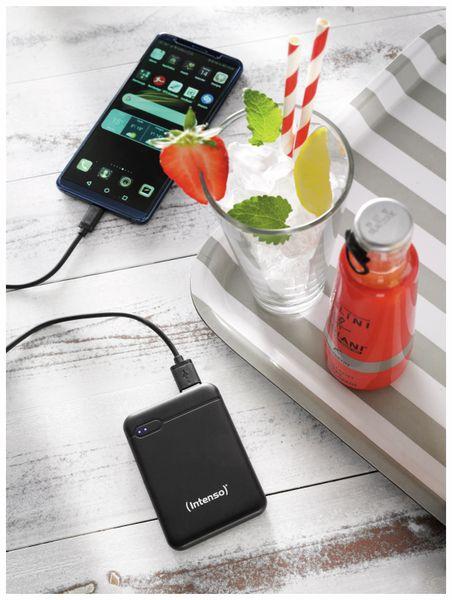 USB Powerbank INTENSO 7313520, XS 5000, 5.000 mAh, schwarz - Produktbild 8