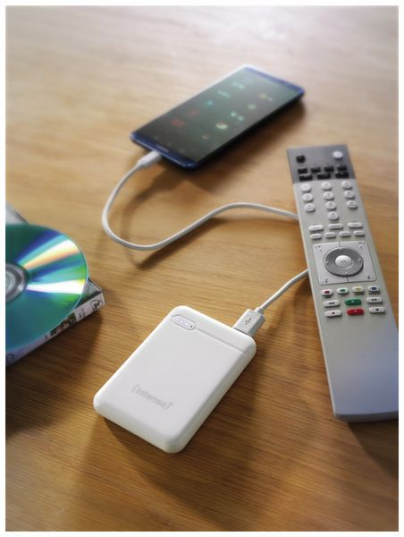 USB Powerbank INTENSO 7313522 XS 5000, 5.000 mAh, weiß - Produktbild 8