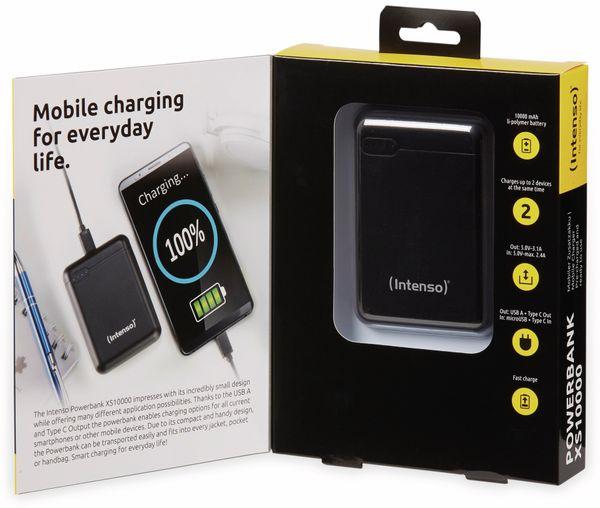 USB Powerbank INTENSO 7313530 XS 10000, 10.000 mAh, schwarz - Produktbild 6