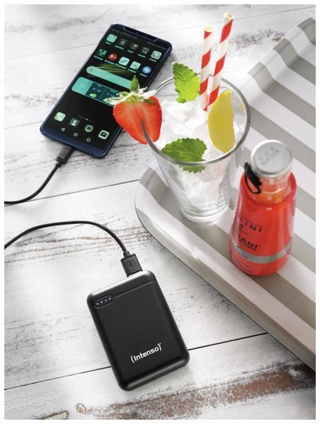 USB Powerbank INTENSO 7313530 XS 10000, 10.000 mAh, schwarz - Produktbild 8