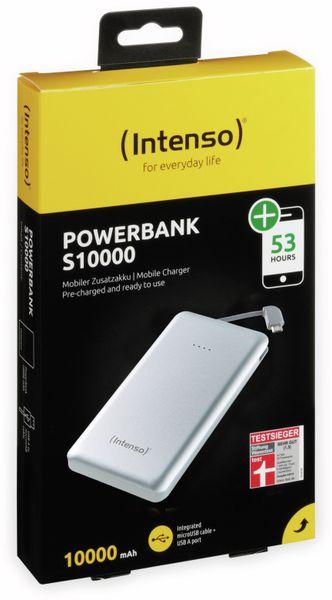 USB Powerbank INTENSO 7332531 S10000, 10.000 mAh, silber - Produktbild 5